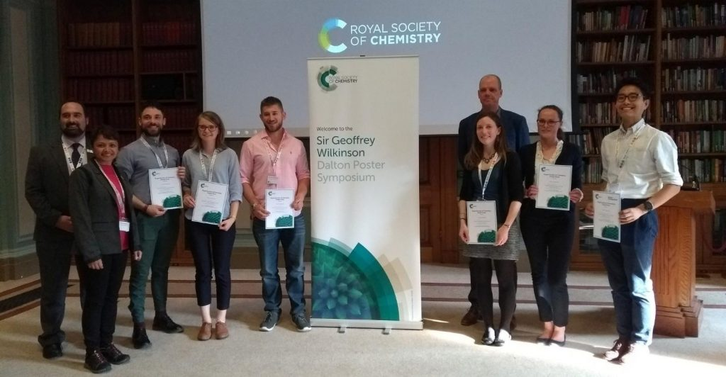 Photo of prize winners © Royal Society of Chemistry