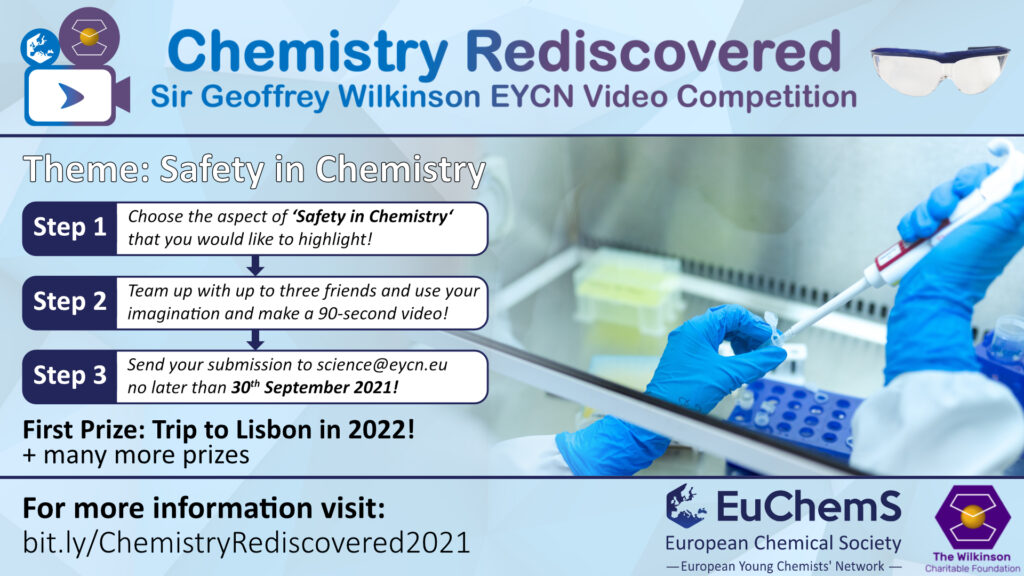 Promotional image for the Wilkinson EYCN Video Competition, 2021